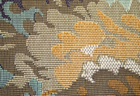 Tkaniny dekoracyjne w Pałacu Steinertów w Łodzi