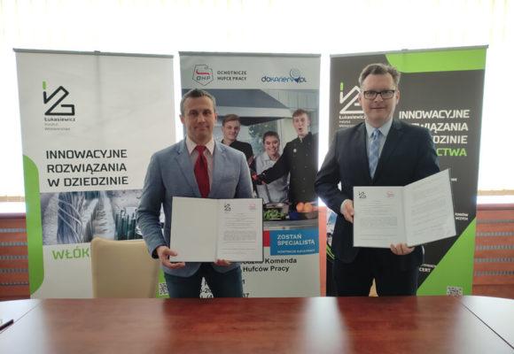 Współpraca z Łódzką Wojewódzką Komendą Ochotniczych Hufców Pracy